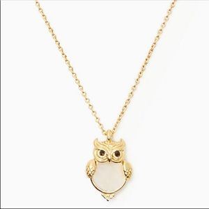 Kate Spade - NWT 'Into The Woods' Owl Necklace